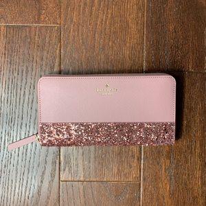 KS ♠️ Neda wallet in dusty peony